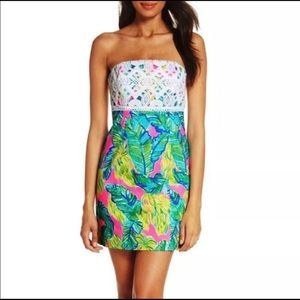 Lily Pulitzer pink sunset brynn dress NWT size 12